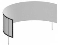 ECRA FRAME CIRCULAR 300x190 VISION WHITE