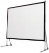 Ecrã Fast Fold Equi 4:3 c/ 2 Telas